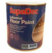 SupaDec Industrial Garage Floor Paint Interior & Exterior - 1L Slate Grey