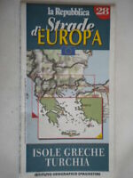 isole greche turchia carta stradale de agostinirepubblica strade europa viaggi
