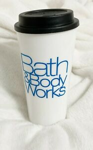 Bath and Body Works, Plastic Travel Hot or Cold Drink Cup, 16 oz., BPA Free