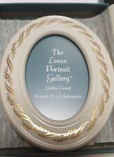 Oval Frame Lenox Golden Laurel Vintage Original Box Collectors NIB