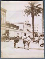 Algérie, Bône (عنابة), Le Quartier des Mozabites  Vintage citrate print. Photo J