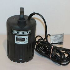 EVERBILT SUP80-HD 4/10 HP 3180 GPH WATERFALL UTILITY PUMP