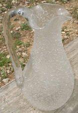 Carafe Broc à Glace en cristal givré BACCARAT