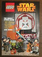 Star Wars Rebels Strike Back Lego 2015 Disney Kanan Comic 1st Sabine Wren & Ezra