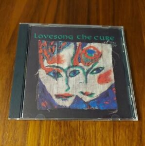 THE CURE LOVE SONG SINGLE CD ALSO INCLUDES 2 LATE and FEAR OF GHOSTS