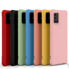 For Samsung Note 20 10 Plus Silicone Rubber TPU Shockproof Slim Back Cover Case