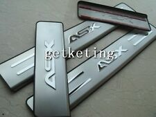 Stainless SCUFF DOOR SILL PLATES For Mitsubishi ASX Outlander Sport RVR 10-2012