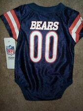 Chicago Bears #00 nfl INFANT BABY NEWBORN CREEPER Jersey 18M 18 M 18 Months
