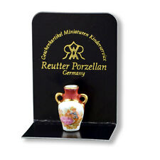 Reutter Porzellan Amphorenvase / Limoges Style Vase Puppenstube 1:12 Art 1.908/0