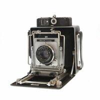 Vintage Busch 4x5 Model D with Graflex 135mm F/4.7 Optar in Graphex Shutter - AI