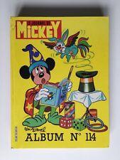 ALBUM DU JOURNAL MICKEY N° 114 1704 A 1713 / 1985 WALT DISNEY / RELIURE RECEUIL