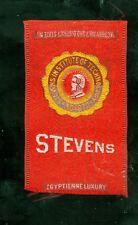 1900s S25 College Seals tobacco silk - Stevens Institute of Technology