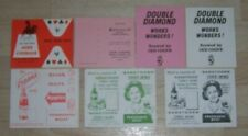 More details for 7 off vintage drink related whist cards / john courage cydrax double diamond