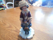 Boyds Bears Yesterday'S Child Kristi With Nicole Figurine Skaters Waltz Home # 7