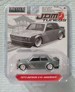 2019 Jada Metals JDM Tuners 1973 Datusn 510 Widebody Raw