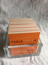 Table Topics RuBy Mine TEEN Edition Questions to great conversations Near Mint