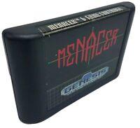 Menacer 6-Game Cartridge (Sega Genesis, 1992) Cart Only CLEANED & TESTED