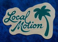 LOCAL MOTION  Hawaii .. Original Vintage Surfing sticker