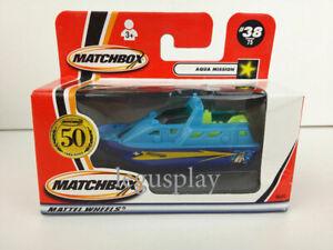 Matchbox 2001 Aqua Mission #38/75  50th aniversario - Diecast 1/64