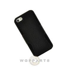 Apple iPhone 5/5S/SE Hybrid Mesh Case - Black Case Cover Shell Guard