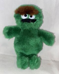 "Sesame Street Mini Collection Oscar The Grouch Plush Doll 6"" Item No. 14012"