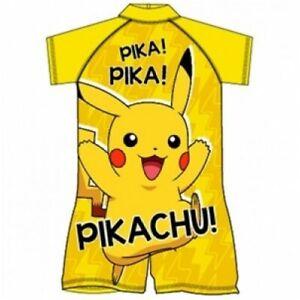 Boys Pokémon UV Swimming  Swimsuit Sunsafe Surf Suit Swimwear Age 2-3 Yrs