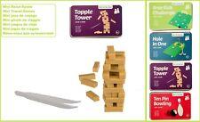 Reisespiele Mini Spiele Topple Tipsy Tower Geschenkbox für unterwegs