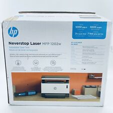 Hp Neverstop Mfp 1202w Wireless 5Hg92A All-In-One Laser Printer
