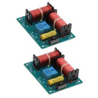 2pcs filtres de croisement de haut-parleur diviseur de fréquence 2 voies