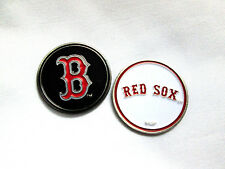 MLB Boston Red Sox Golf Ball Marker Enamel Metal Team Logo 2 Sided Hat