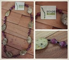 Uganda Recycled Material Bead Necklace, Africa, Fair Trade