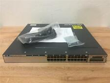 Cisco WS-C3750X-24P-L With IP BASE LICENSE! 1 Year End User Warranty!