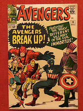 AVENGERS #10 ZEMO ENCHANTRESS EXECUTIONER 1ST APPEARANCE IMMORTUS KIRBY HECK LEE