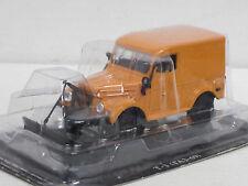Wolga GAZ 69 T-3 Räumfahrzeug - orange- 1/43--IXO/IST/Kultowe Auta PRL--NEU--OVP