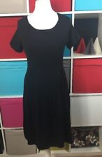 Betty Barclay Black Knit Jumper Casual Dress Size 14 *VGC*