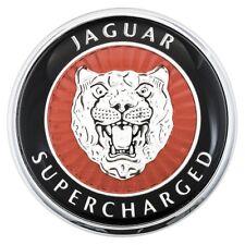 Trunk Boot lid badge Supercharged logo Genuine Jaguar XK-R X100 98-02 4.0 V8 SC