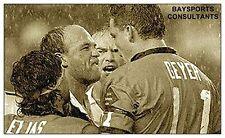 LEWIS vs GEYER  'LEGENDS SERIES' TRADING CARD 2014 'BAYSPORTS' NRL