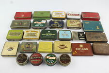 26 x Assorted Vintage TOBACCIANA Advertising TINS Inc Benson & Hedges, Players