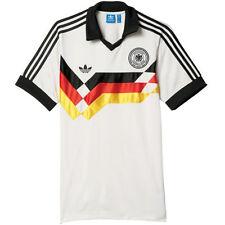 Camiseta de fútbol de selecciones nacionales de manga corta en blanco