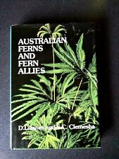 AUSTRALIAN FERNS AND FERN ALLIES BOOK HB DJ JONES CLEMESHA VG-EX COND