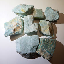 Amazonite (4) Crystals Natural raw rough healing chakra heart stones eft