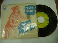 "DEEP PURPLE""BLACK NIGHT/SPEED KING-disco 45 giri HARVEST France 1970"" RARO"