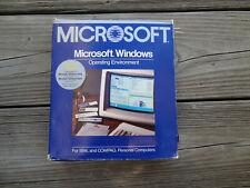 Microsoft Wimdows Operating Enviroment Version 1.03