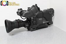 Sony DXC-D35WS Studio Broadcast Camera 16:9 or 4:3 Fujinon Lens CA-TX7 Triax