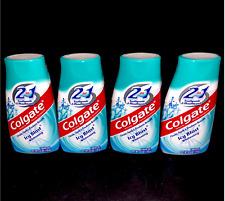 4 Colgate Icy Blast Whitening LIQUID GEL Fluoride Toothpaste  4.6 oz each 3/2020