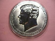 4.2 OZ JOHN F KENNEDY COMMEM PROOF NICKEL SILVER COPPER COIN SHARP NOT PURE