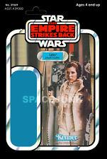 Star Wars: The Empire Strikes Back Princess Leia Hoth Repro Kenner Cardback