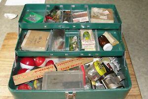 Vintage tackle box full
