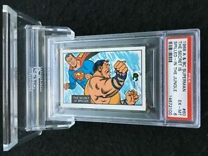 1968 A&BC SUPERMAN THE SECRET IS SPILLED #60 PSA 6 EX-MINT - VINTAGE garno PSA