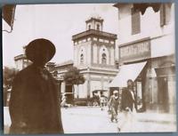 Algérie, Bône (عنابة), Quartier des Mozabites, Les Halles  Vintage citrate print